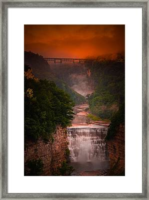 Dawn Inspiration Framed Print