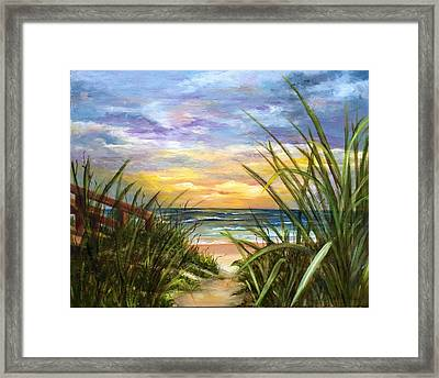 Dawn Is Breaking  Framed Print