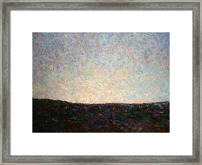 Dawn Framed Print by James W Johnson