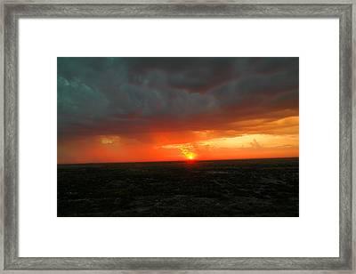 Dawn Framed Print by Jeff Swan