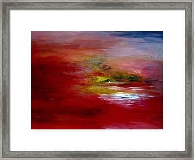 Dawn Framed Print by LeeAnn Alexander