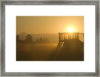 Dawn Framed Print