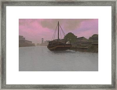 Dawn Low Tide Framed Print by Phil Vooz