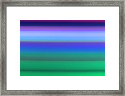 Dawn Meadow Framed Print
