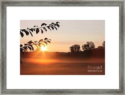 Dawn Of A Brand New Day  Framed Print