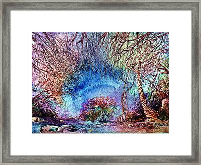 Framed Print featuring the painting Dawn Of A Kid by Mikhail Savchenko