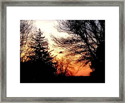 Good Morning World Framed Print by Crystal Farris