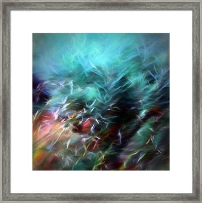 Dawn Of Creation Framed Print