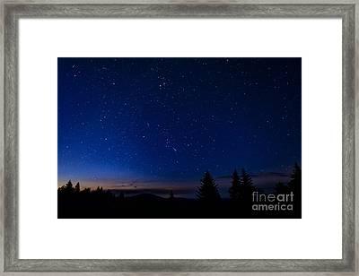 Dawn Of Orion Framed Print by Thomas R Fletcher