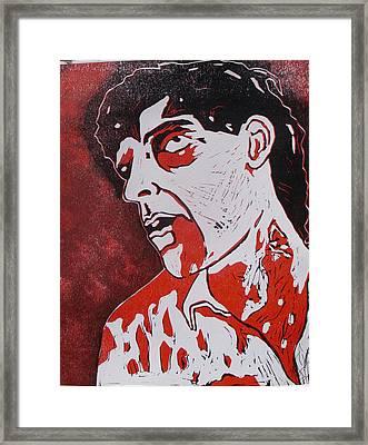 Dawn Of The Dead Print 4 Framed Print