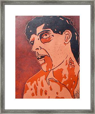 Dawn Of The Dead Print 5 Framed Print by Sam Hane