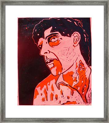 Dawn Of The Dead Print 6 Framed Print by Sam Hane