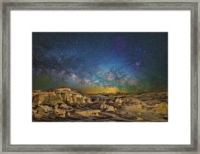 Dawn Of The Universe Framed Print