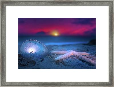 Framed Print featuring the photograph Dawn Of The Warriors by Mark Andrew Thomas