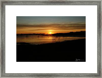Dawn Of Time Framed Print
