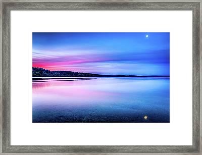Framed Print featuring the photograph Dawn On Bainbridge Island by Spencer McDonald