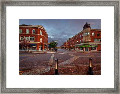 Dawn On Park Street Framed Print