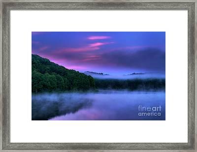 Dawn On The Summer Solstice Framed Print by Thomas R Fletcher