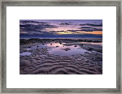 Dawn On Wells Beach Framed Print by Rick Berk
