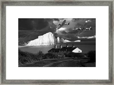 Dawn Patrol Framed Print by Kris Dutson