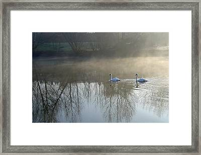 Dawn Patrol Framed Print by Rod Johnson