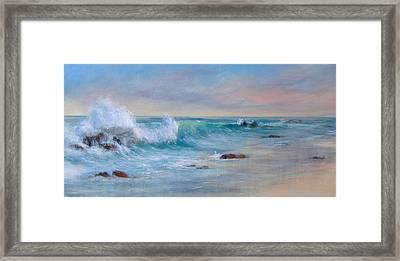 Dawn Framed Print by Rita Palm