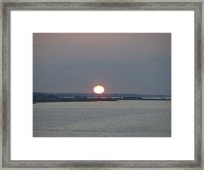 Framed Print featuring the photograph Dawn by  Newwwman