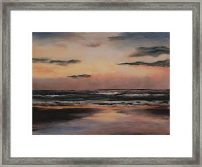 Dawn Framed Print by Sarah Bernhardt