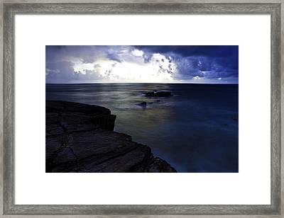 Dawn Framed Print by Sarita Rampersad