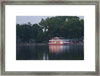 Dawn-st. Joseph River Framed Print