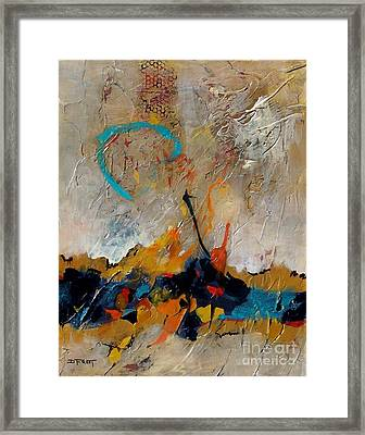 Dawn Vibrations Framed Print by Donna Frost