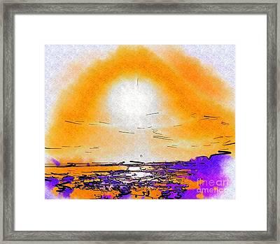 Dawning Framed Print by Deborah Selib-Haig DMacq