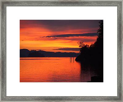 Dawning Framed Print by Mark Alan Perry