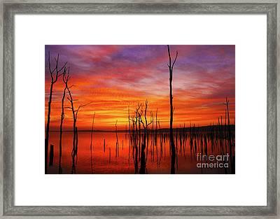 Dawns Approach Framed Print