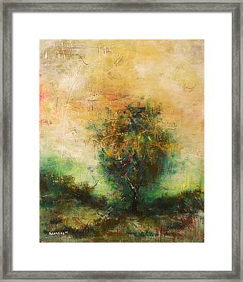 Dawns Dew 1  Framed Print by Eric Rabbers