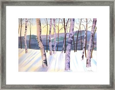 Dawns Early Light Framed Print