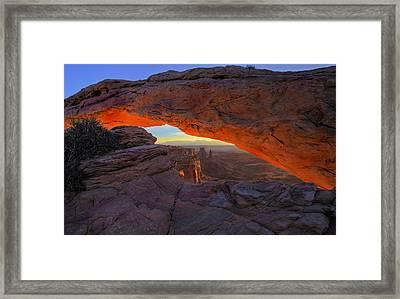 Dawns Early Light Framed Print by Mike  Dawson