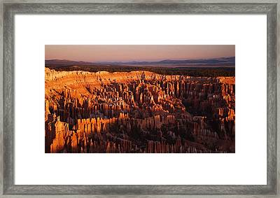 Dawn's First Light Framed Print