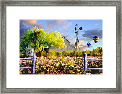 Dawns First Light Framed Print by Ron Chambers