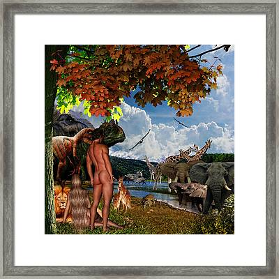 Day 6 Framed Print by Lourry Legarde