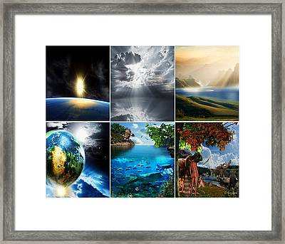 Day 7 Framed Print by Lourry Legarde