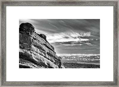 Day And Night Framed Print by Kevin Munro