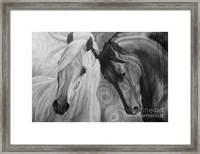 Day And Night Framed Print by Silvana Gabudean Dobre