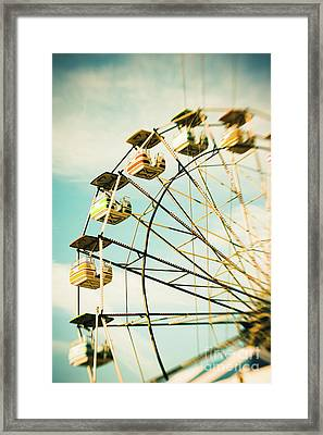 Day At The Beach No.3 Framed Print by Lisa McStamp