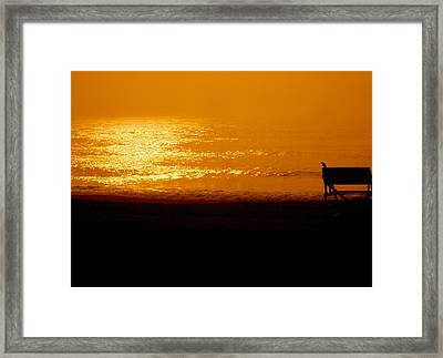 Day Break Framed Print by Joe  Burns
