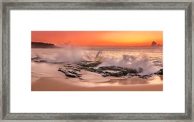 Day Break Framed Print by Racheal Christian