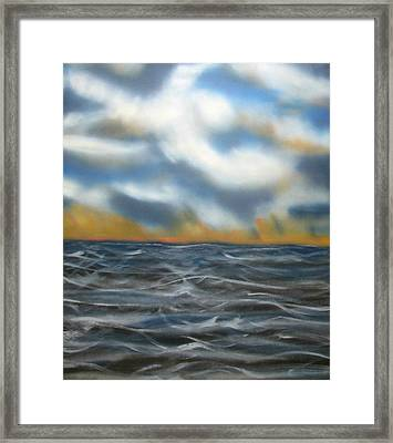 Day Break Sea Framed Print