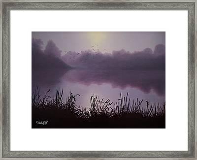 Day Break Framed Print by Tim Dangaran
