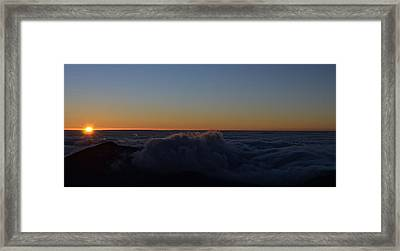 Day Break Framed Print by Tracey Myers