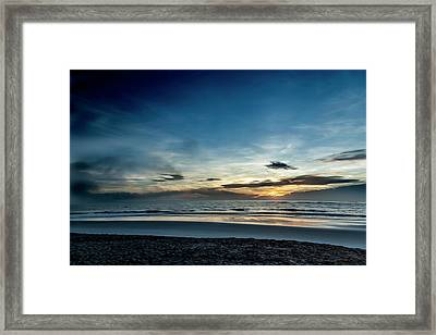 Framed Print featuring the photograph Day Breaker by Eric Christopher Jackson